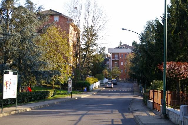Asti, Via Salvo d'Acquisto